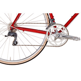 Creme Echo Solo 16-speed red